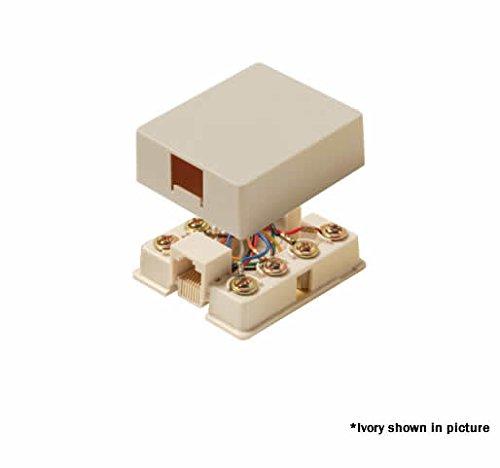 Steren - 8C White Surface Jack