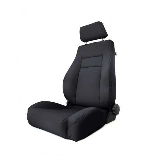 Rugged Ridge 13446.15 Black Denim XHD Ultra Front Seat with Recliner (Recliner Replacement Parts Bolt compare prices)