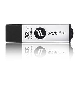 32 GB Alu SaveTec USB 2.0 Speicherstick Extreme Ultra Speed 20 MB/s Speicherkarte Ultra Extreme Speed 32GB Full HD Video