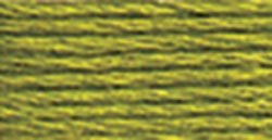 DMC 117-581 Six Stranded Cotton Embroidery Floss, Moss Green, 8.7-Yard