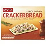 Ryvita Wholegrain Crackerbread 125G