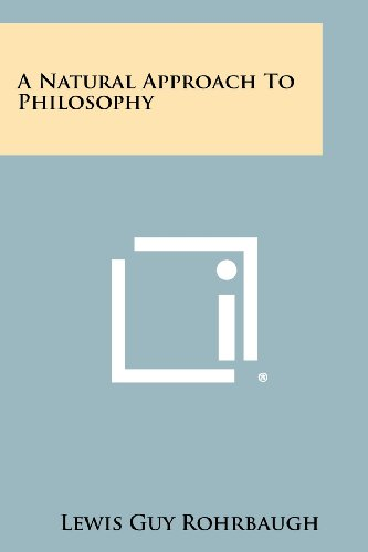 A Natural Approach to Philosophy