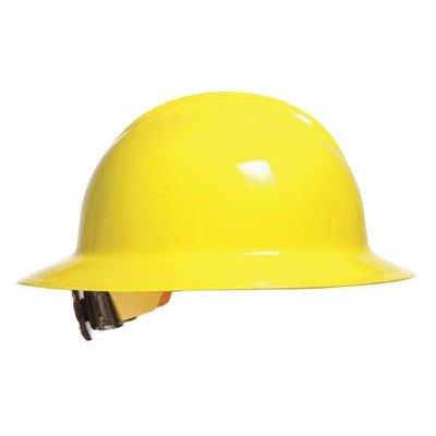 Bullard C33 Classic Full Brim Hard Hat w/ Ratchet Suspension, White (Adjustable Hard Hat Insert compare prices)