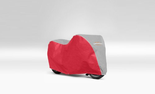 MOTOR BIKE COVER FOR MOTO GUZZI BREVA V750IE RED
