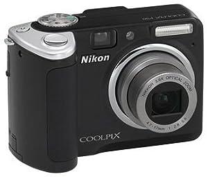 "Nikon Coolpix P50 Digital Camera - Black (8.1MP, 3.6x Optical Zoom) 2.4"" LCD"