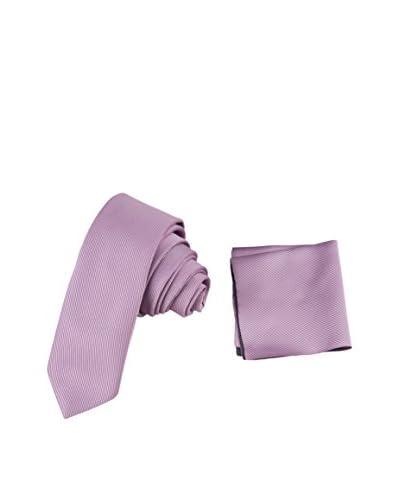 GIORGIO DI MARE Set: Pochette da Taschino+ Cravatta [Rosa]