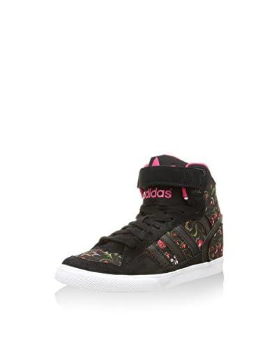 adidas Sneaker Alta Extaball Up [Nero/Fucsia]