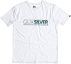 Quiksilver Classic T-Shirt manches courtes Homme White FR : S (Taille Fabricant : S)
