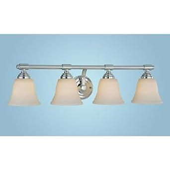 Millennium Lighting 3044 4 Light Bathroom Vanity Light Chrome Vanity Lighting Fixtures
