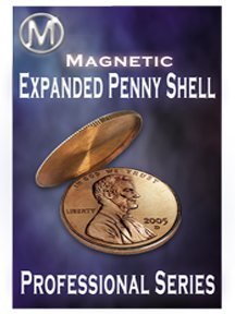 M Is Magic: Disappearing and Re-Appearing Magnetic Penny Expanded Shell Coin