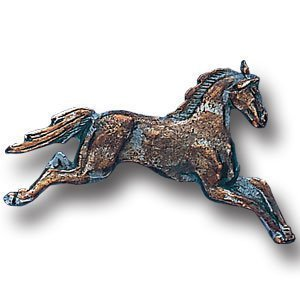 Pewter 3-D Collector Pin - Free Form Horse - Collectors Pin