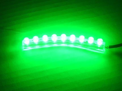 9 Led Light [Green] [Water Proof/Flexible], 9 Led Strip Neon Pod Light For Cars / Motorcycles / Boats / Bikes / Atvs / Home / Aquarium Light Under Water / Etc Interior And Exterior Under Dash Lighting Kit - Citie Diy Led Kit. Pod Light Bright Led Accent G