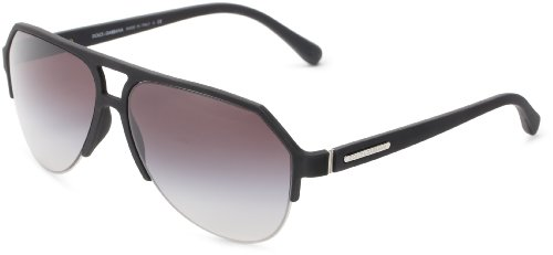 D&G Dolce & Gabbana 0DG2130 11798G60 Square Sunglasses,Black,60 mm