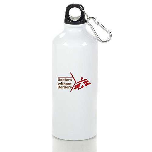 Doctors Without Borders Cool Aluminum Sports Water Bottle - 400/500/600ML 400ml