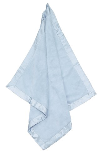 Angel Dear Fuzzy Blanket with Satin Trim - 1
