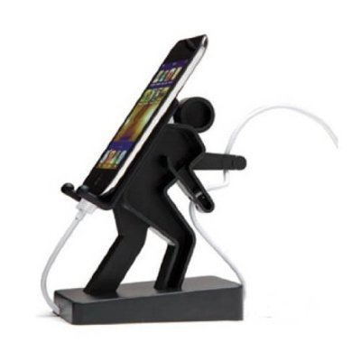 how to make a black iphone stand