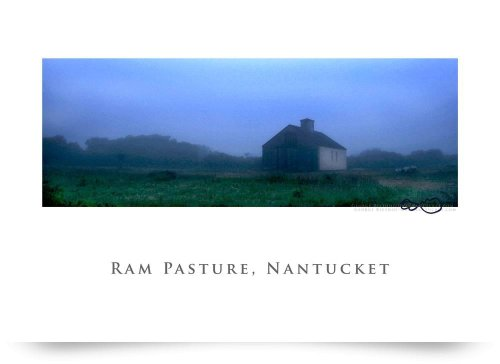 Nantuckets Ram Pasture Barn At Dusk (Giclee Art Print), George Riethof front-959301