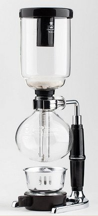 JustNile Glass Tabletop Siphon (Syphon) Coffee Maker, 5 Cup