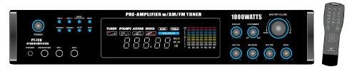 Pyle PT720A Amplifier - 1000 W PMPO - 40 Hz to 15 kHz - AM,