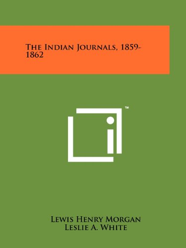 The Indian Journals, 1859-1862