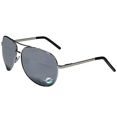 NFL Miami Dolphins Aviator Sunglasses