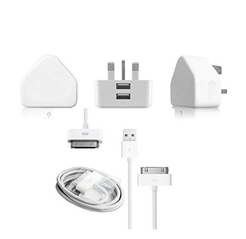 trovon-pad-1-2-and-3-fast-charger-21-amp-high-quality-light-weight-usb-mains-charger-includes-usb-20
