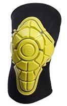 G-Form Knee Pads Longboard Skateboard BMX Bike Yellow / Black Size Medium