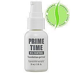 Bare Escentuals Prime Time Foundation Primer Oil Control 1 oz by Bare Escentuals
