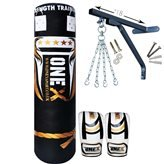 new-9-pieces-heavy-filled-boxing-set-4ft-punch-bag-gloves-wall-bracket-chain-mma-punching-training-w