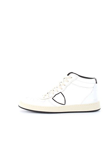 PHILIPPE MODEL PARIS LKHU VL01 WHITE BLACK SNEAKERS Uomo WHITE BLACK 44