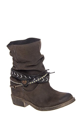 Anna Casual Low Heel Boot