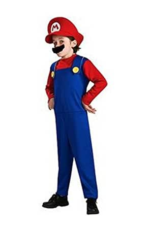 "Super Mario ""Mario: Costume Size Small (6)"