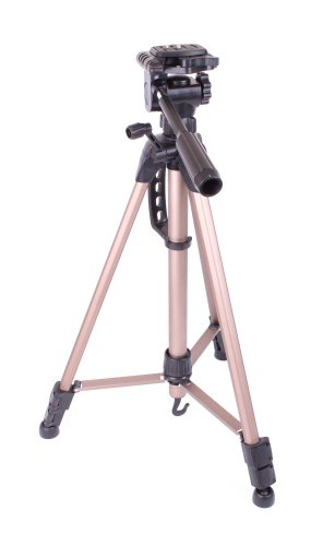duragadget-professional-high-quality-extendable-tripod-with-adjustable-legs-and-spirit-level-for-per