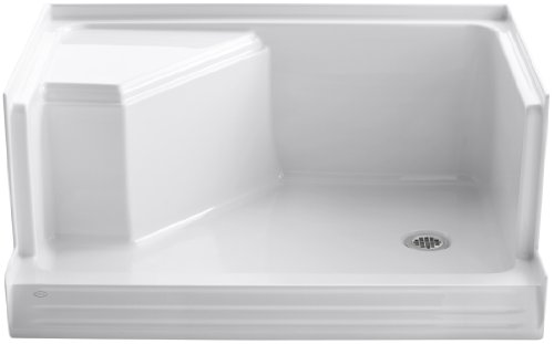 Best Buy! KOHLER K-9488-0 Memoirs 48-Inch Shower Receptor, White