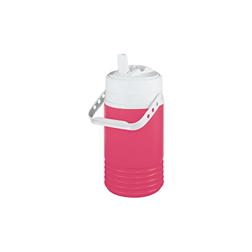 Igloo 00041657 Legend Beverage Jug, 1/2 gallon, Pink/White (Igloo Cooler Pink compare prices)