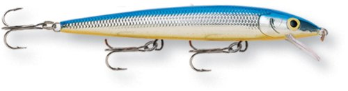 Rapala Husky Jerk 12 Fishing lure (Silver Blue, Size- 4.75)  Review