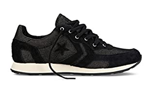 Converse Auckland Racer Ox Trainers - Black / Natural - UK 10