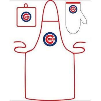 Chicago Cubs Grilling Apron Set