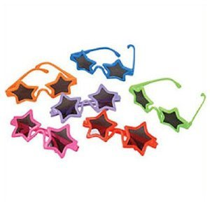 Kids Star Shaped Sunglasses (1 Dz) front-1062473