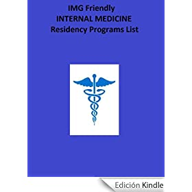 Internal Medicine IMG Friendly Residency Programs List