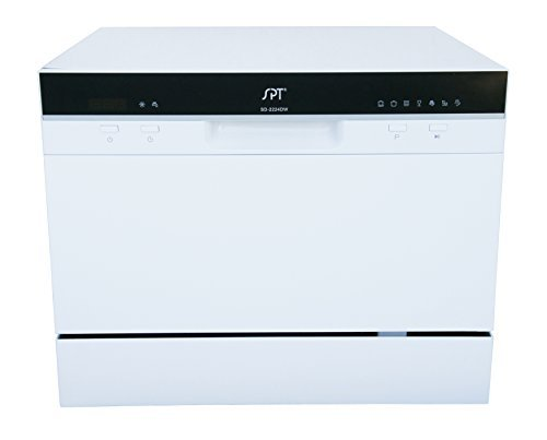 Countertop Dishwasher Water Supply : Spt Sd-2224Dw Countertop Dishwasher With Delay Start & Led, White ...