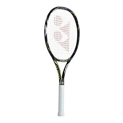 Yonex Ezone DR Lite Tennis Racquet, G4 1/4 (Dark Gun/Lime)