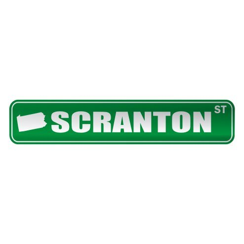 Scranton Street Sign