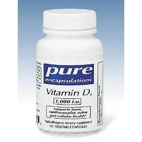 Pure Encapsulations - Vitamin D3 1000 Iu 120 Vcaps [Health And Beauty]