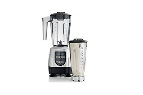 Omega 390 1Hp Blender With On/Off High/Low Bl390Silver front-561518