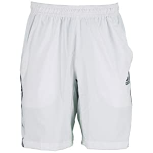 Buy Adidas Mens Tennis Adipower Barricade Shorts (White Night Shade) by adidas
