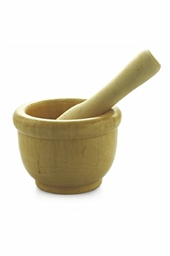 Galileo Casa Mortar in wood