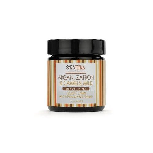 Shea Terra Organics Argan, Zafron & Camels Milk Brightening Face Creme sale 2015