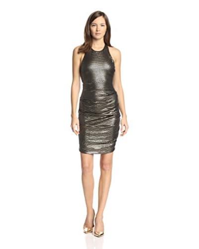 Nicole Miller Women's Sequined Halter Dress