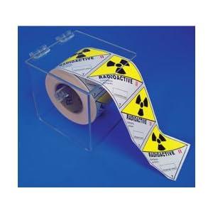 Sticker dispenser - Nmc Ald1 Acrylic Clear Label Dispenser Industrial